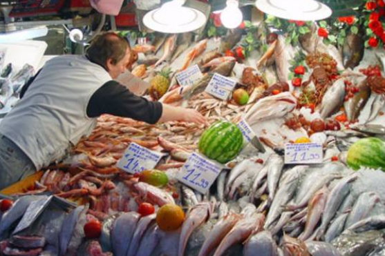 Markt in Genua