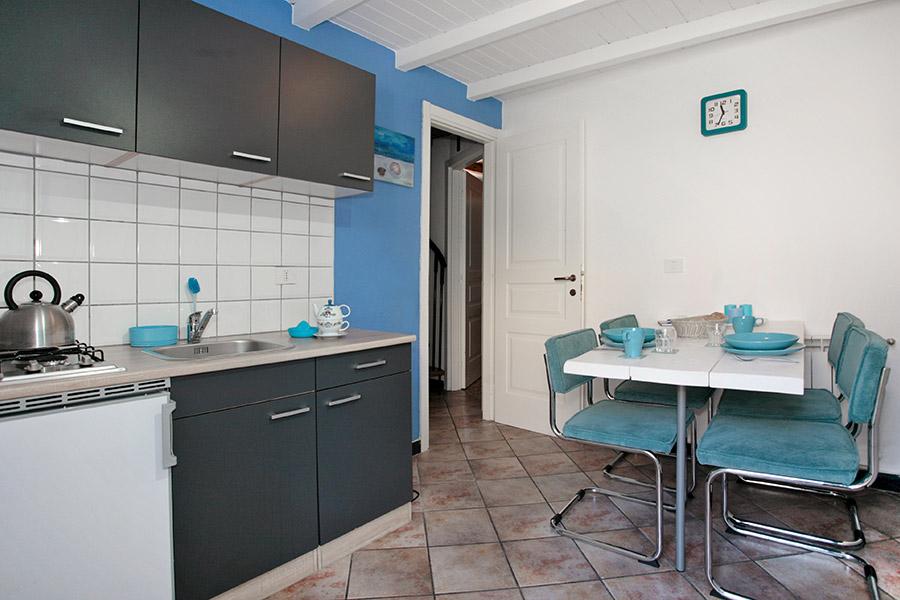 Keuken in Appartement Mare