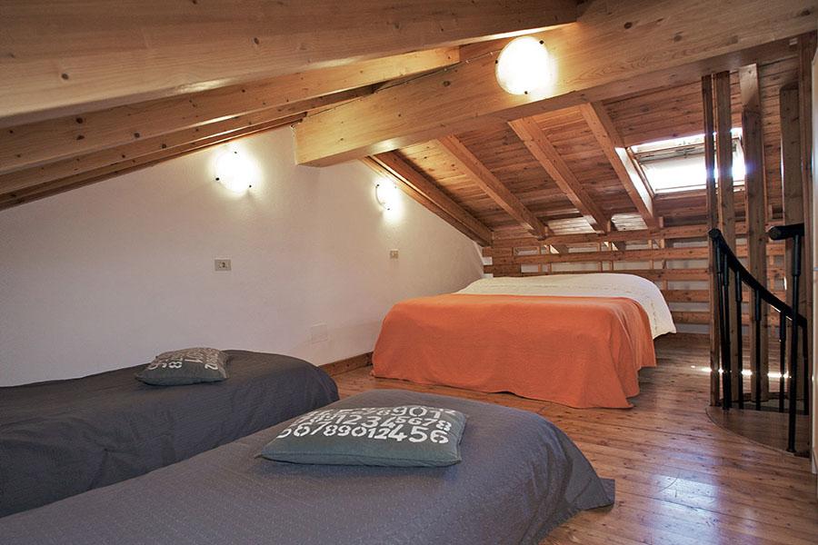 Appartement Spiaggia slaapkamer