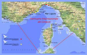 Ligurische zee Genua