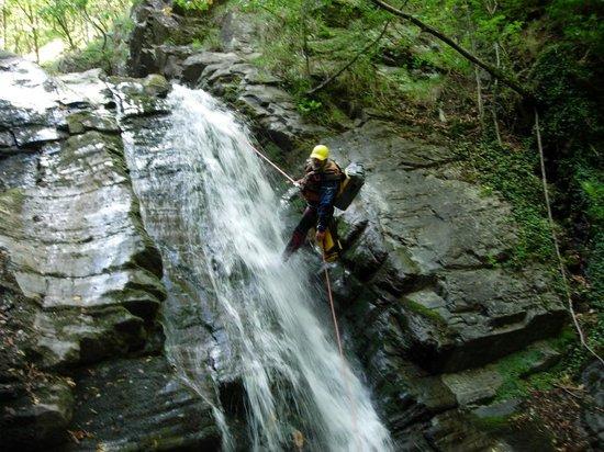 Ligurie canyoning