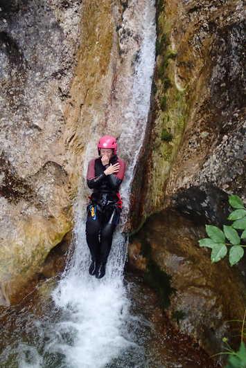 glijbaan canyoning brugnato