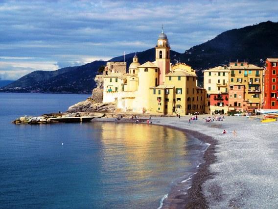 Camogli noord Italië