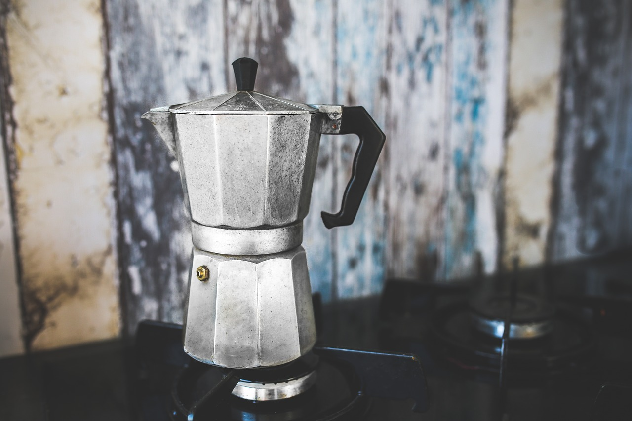 cafetiere italiaanse koffie