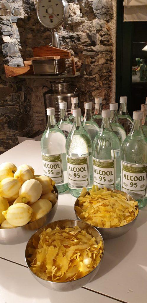 Limoncello ingredienten